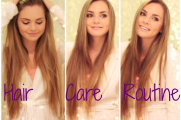easy hair care routine